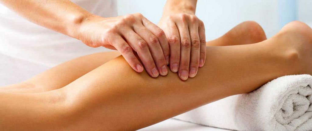 massage sportif jambes