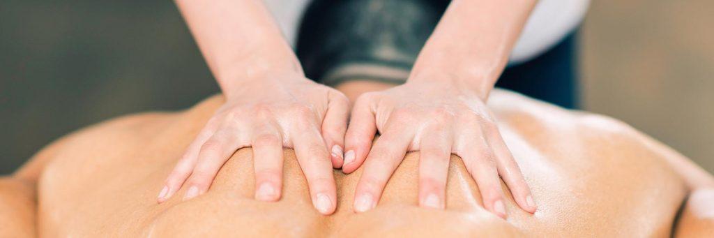 massage sportif dos